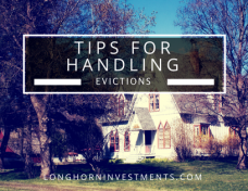 Tips for Handling Evictions