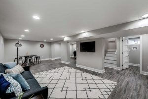 basement after renovations